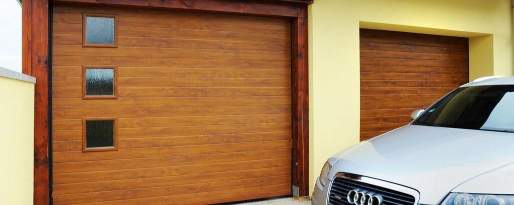garážová vrata lamela