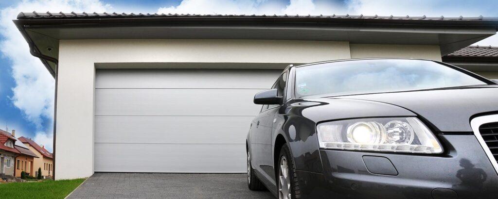 garážová vrata v-profil